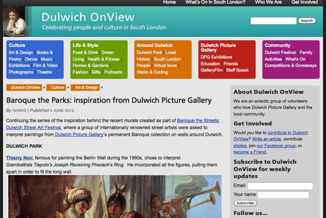 Dulwichonview
