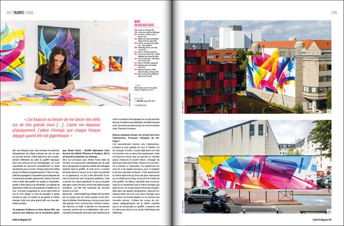 graffiti art magazine 26 madc. Black Bedroom Furniture Sets. Home Design Ideas