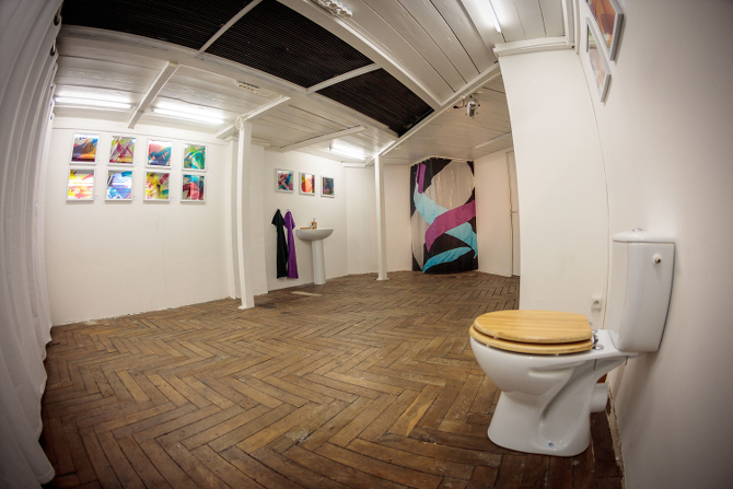 """MadC Solo Show """"Home Sweet Home"""" on 17.03.2016 at Galerie Brugier-Rigail, Paris, France. Photo: Marco Prosch"""